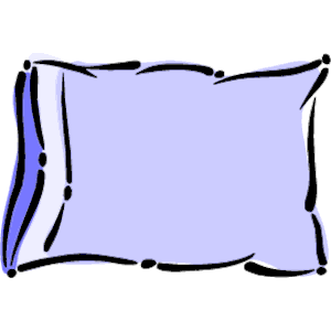 Pillow clipart. Cartoon hd