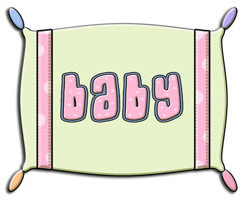 Ref green commercial use. Pillow clipart baby pillow
