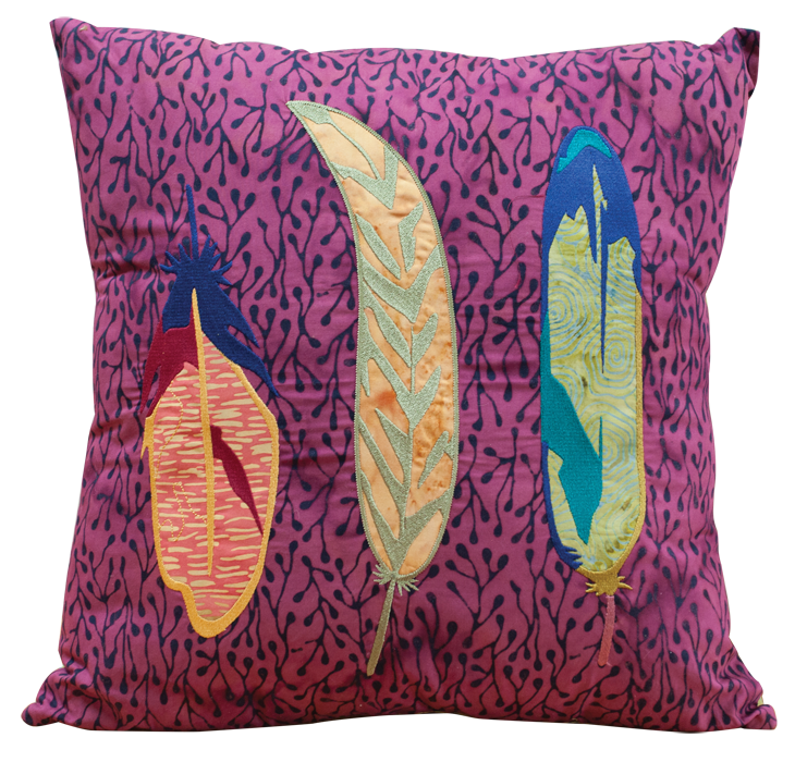 Pillow clipart feather pillow. Your nest machine embroidery