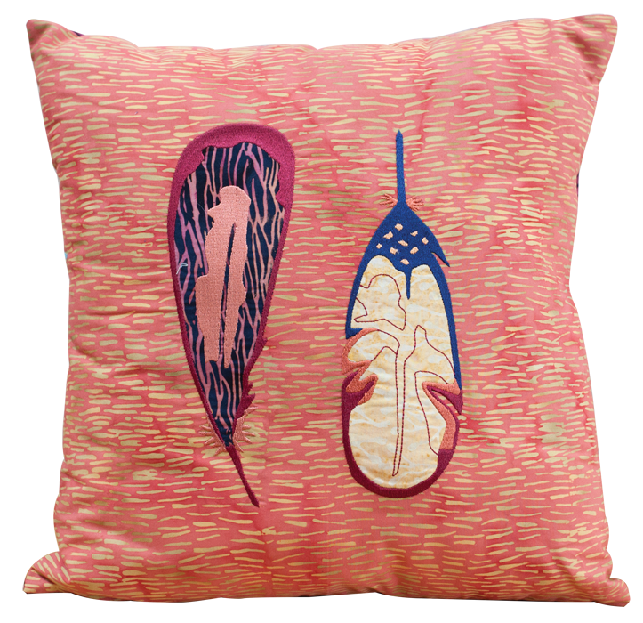 Your nest machine embroidery. Pillow clipart feather pillow