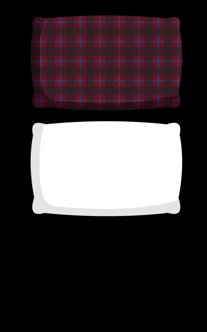 Pillow clipart pellow. Pillows for x by