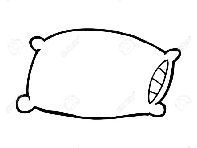 Pillow clipart pillo. Free download clip art
