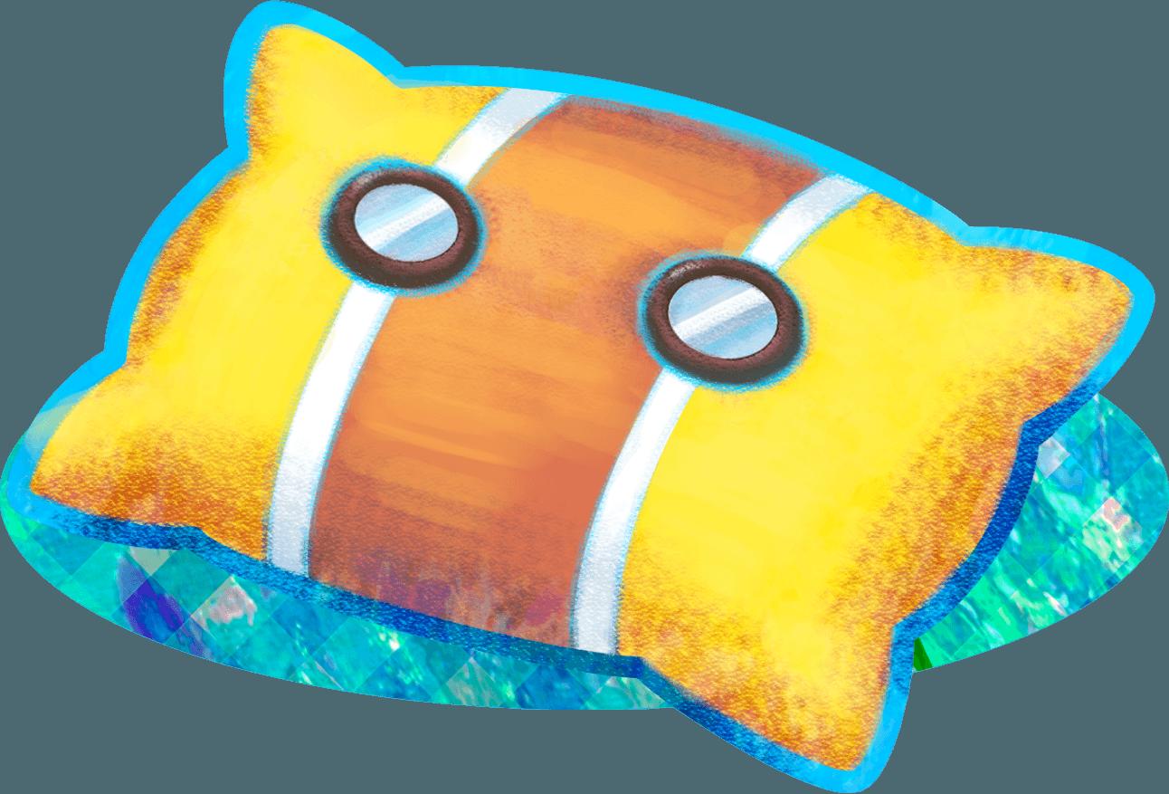 Pillow clipart pillo. Mario luigi dream team