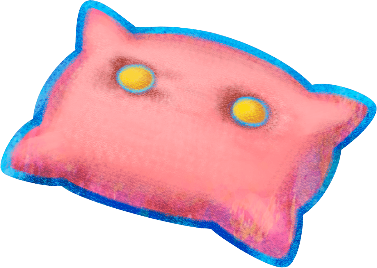 Pillow clipart pink pillow. Mario luigi dream team