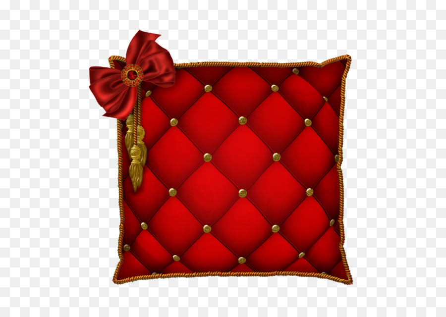 Pillow clipart throw pillow. Red background transparent clip