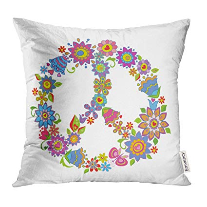 Pillow clipart throw pillow. Upoos cover sign peace