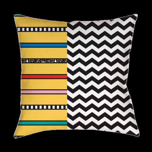 pillow clipart yellow pillow