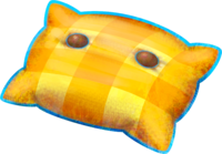 Pillow clipart yellow pillow. Png black and white