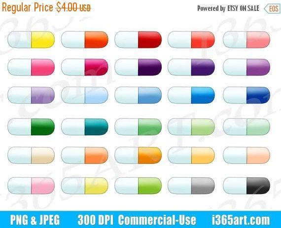 Pill capsule pharmacy medicine. Pills clipart