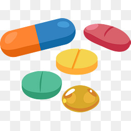 Pills clipart. Drugs png vectors psd