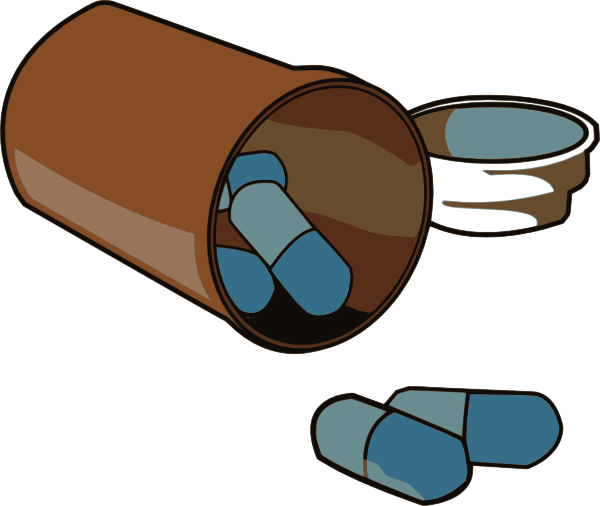 Pills clipart. Medication clip art at
