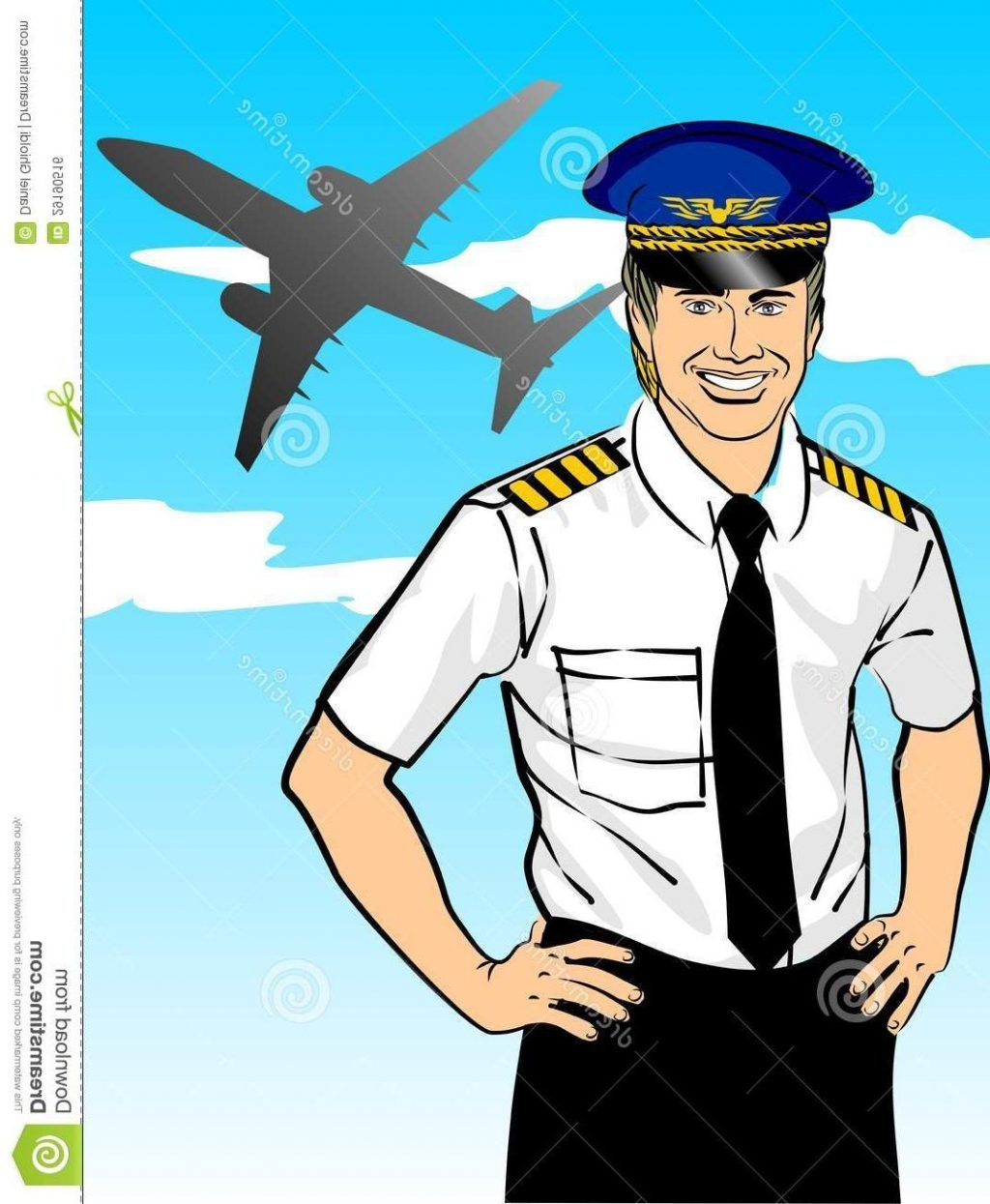 Pilot clipart. Fresh design digital collection