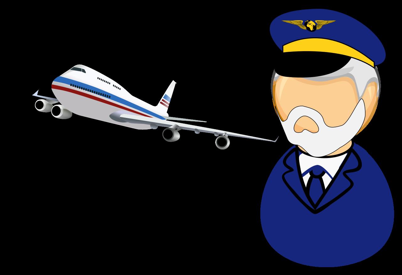 pilot clipart aeroplane pilot