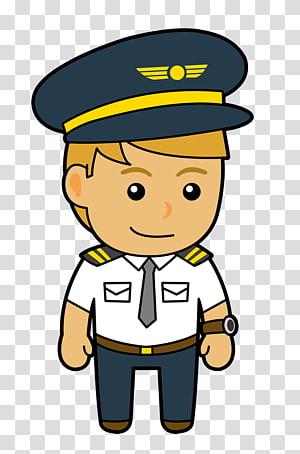 Pilot clipart aeroplane pilot. Airline transparent background png