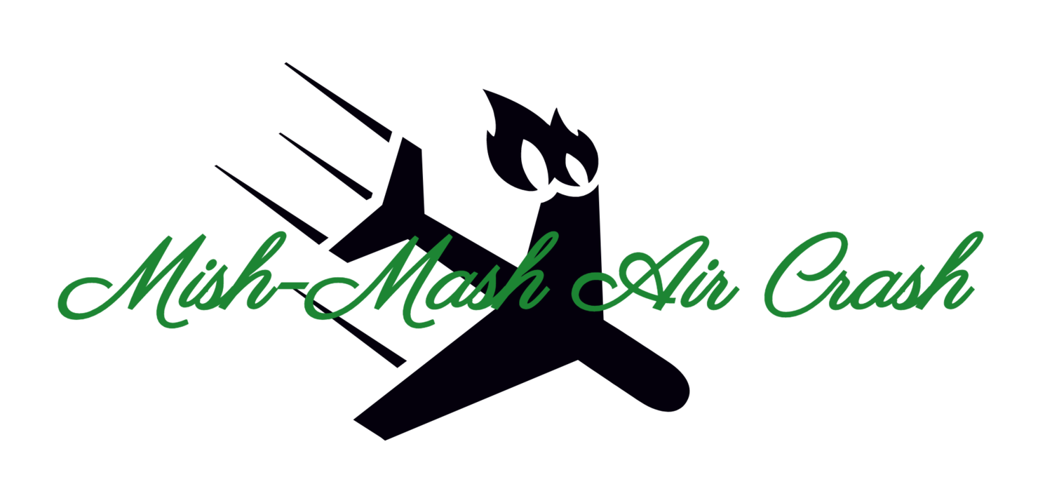 Mish mash air podcast. Pilot clipart airplane crash