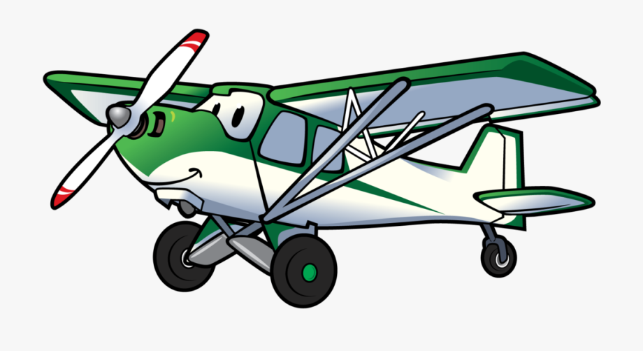 Backcountry with cartoon plane. Pilot clipart airplane crash