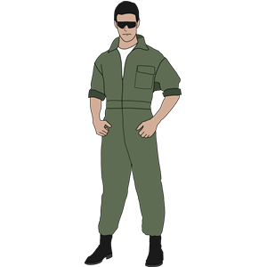 Pilot clipart fighter pilot. Cliparts of free