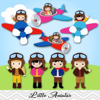 Little aviator boy clip. Pilot clipart girl pilot