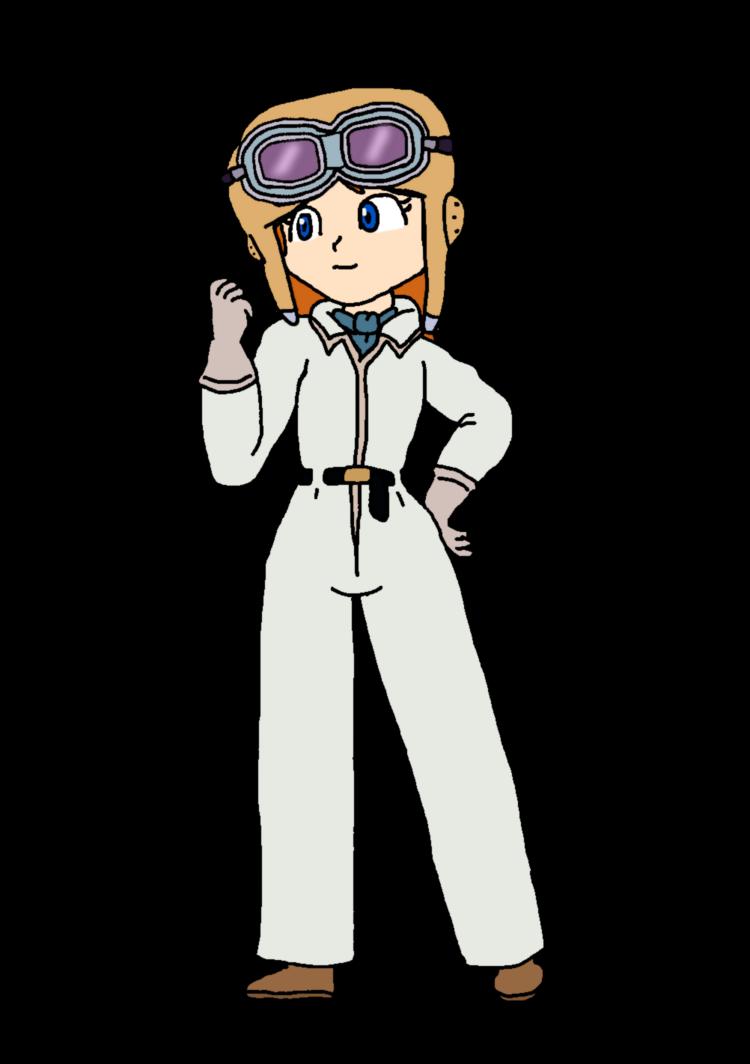 Pilot clipart girl pilot. Daisy fio by katlime