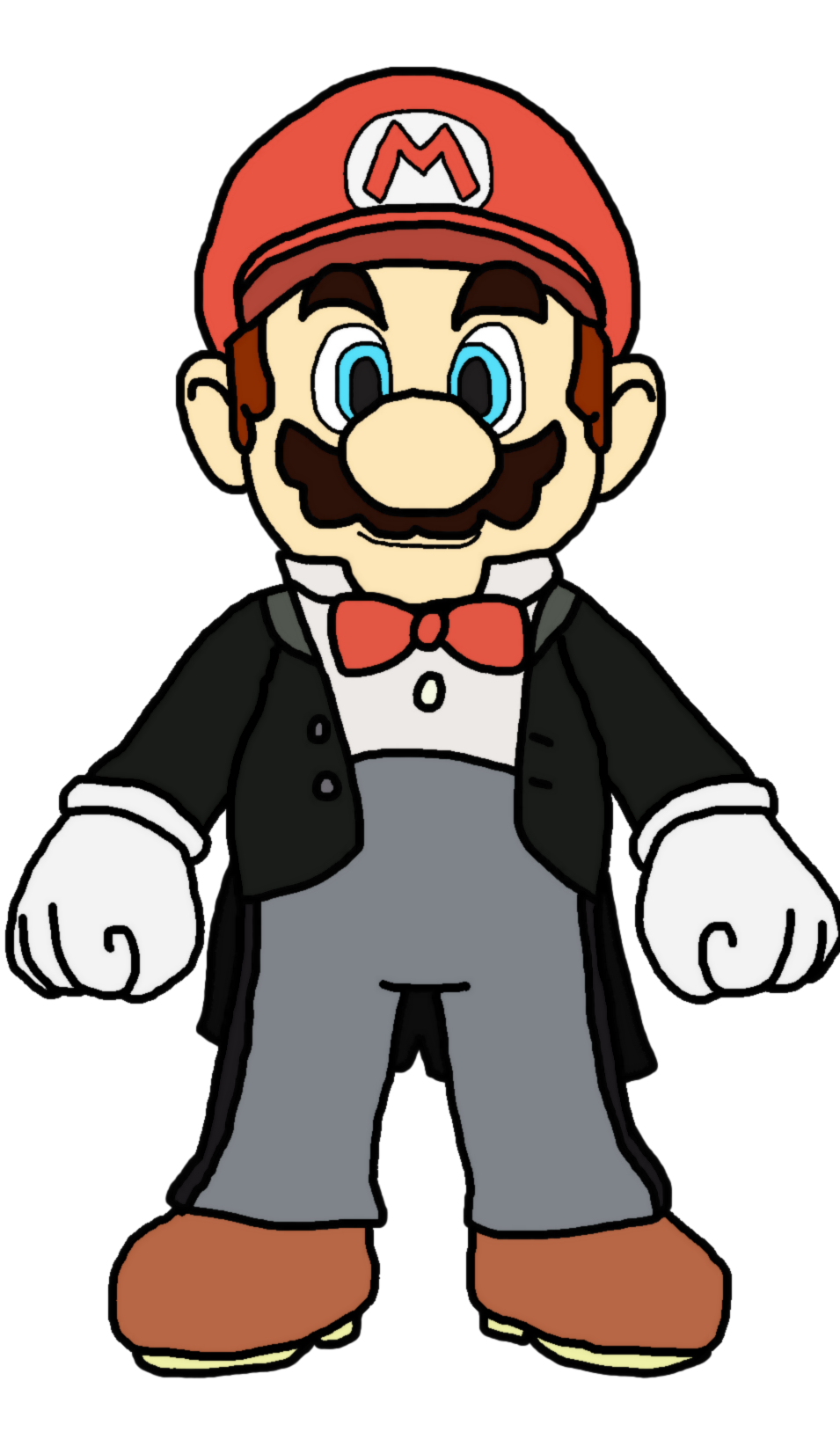Mario conductor by katlime. Pilot clipart person