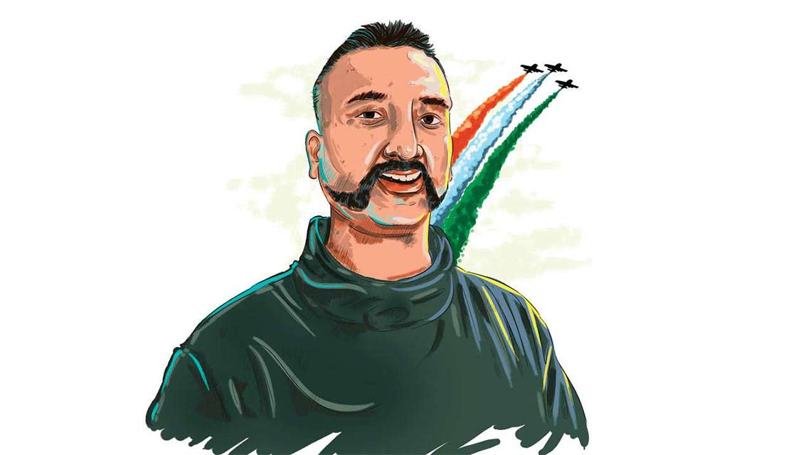Iaf abhinandan back in. Pilot clipart pilot indian