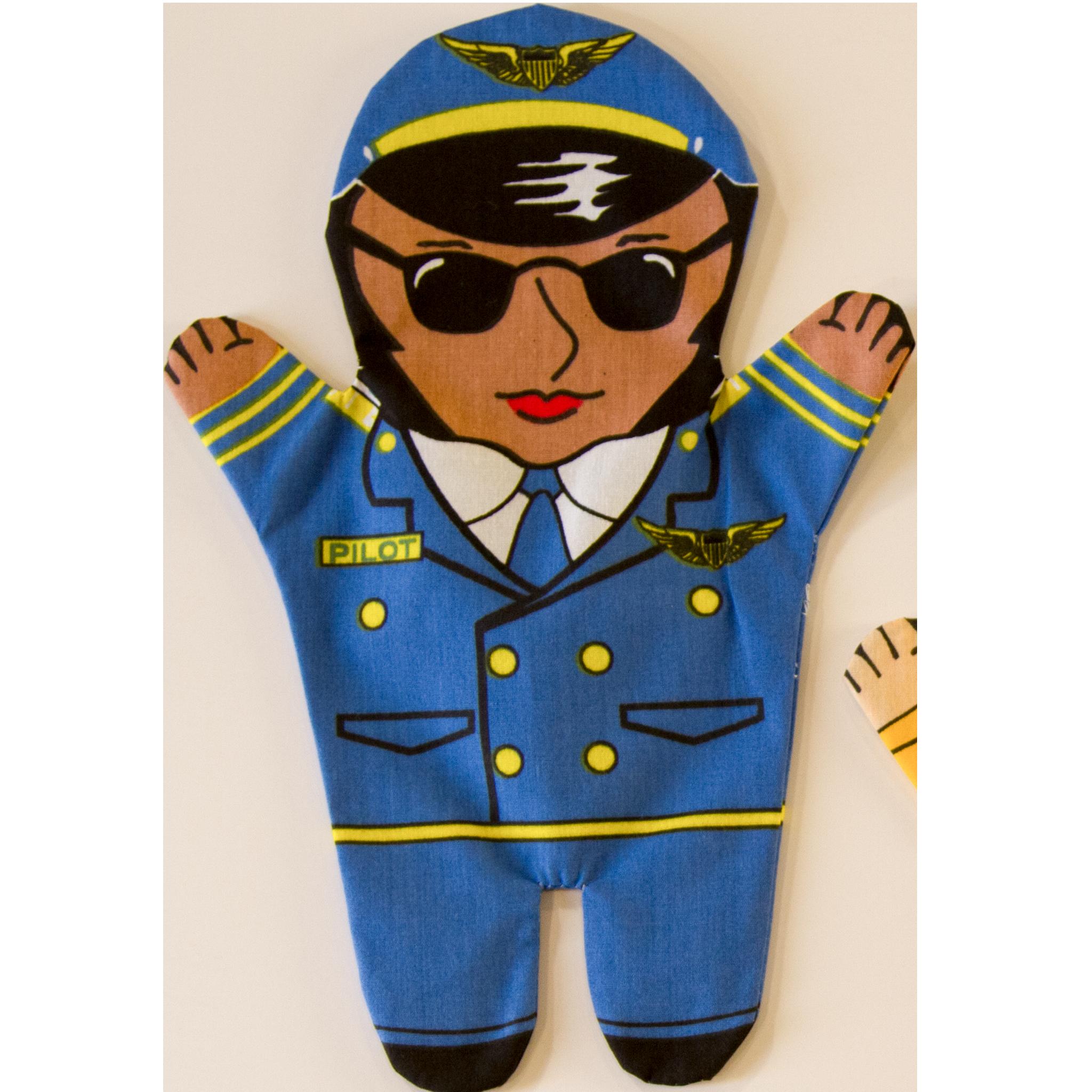 Pilot clipart pilot uniform. Occupation groups new set