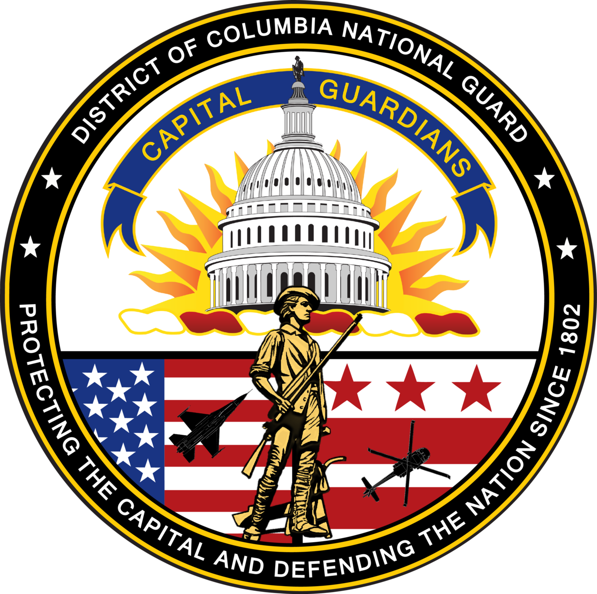 Pilot clipart security guard logo. District of columbia national
