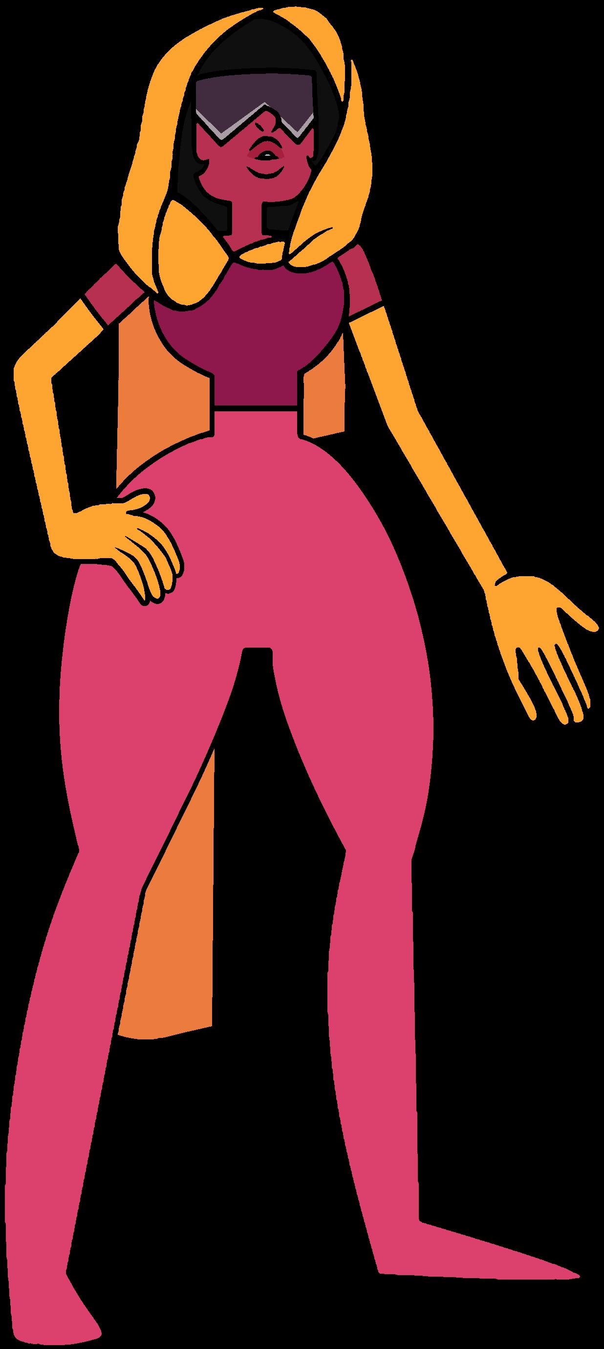 Garnet designs steven universe. Pilot clipart short woman