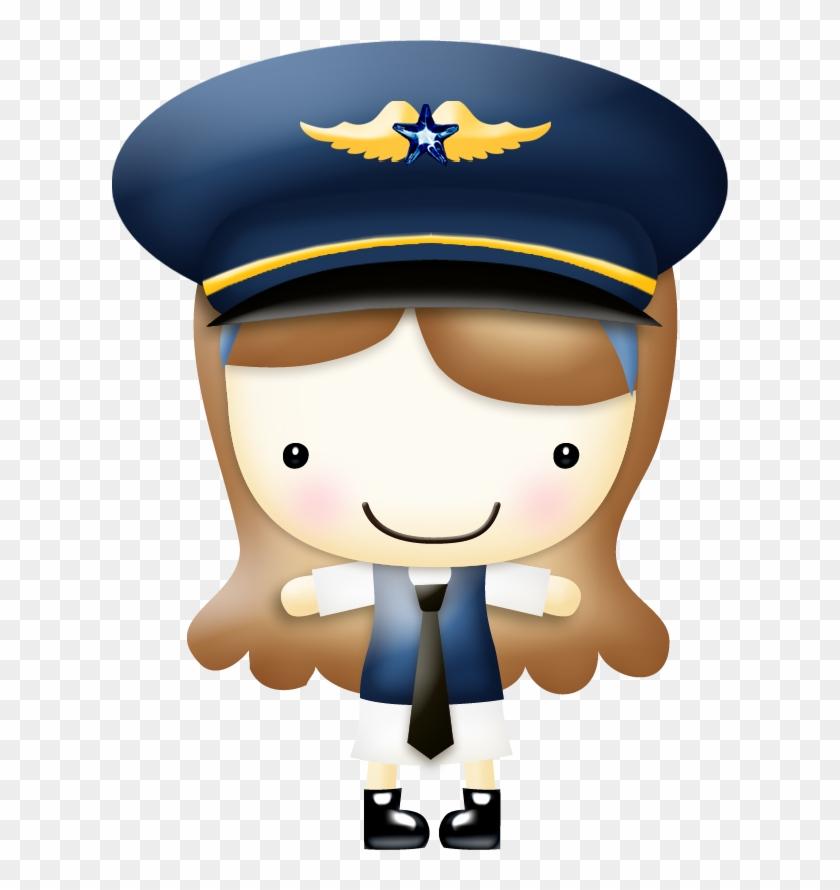 Album female clip art. Pilot clipart woman pilot