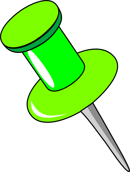 Pin clipart. Clip art at clker