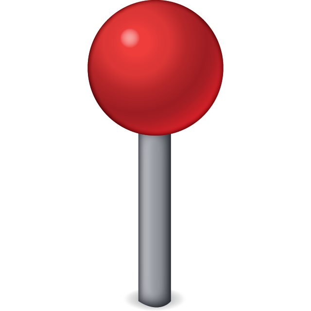 Pin clipart pin drop. Download all emoji icons