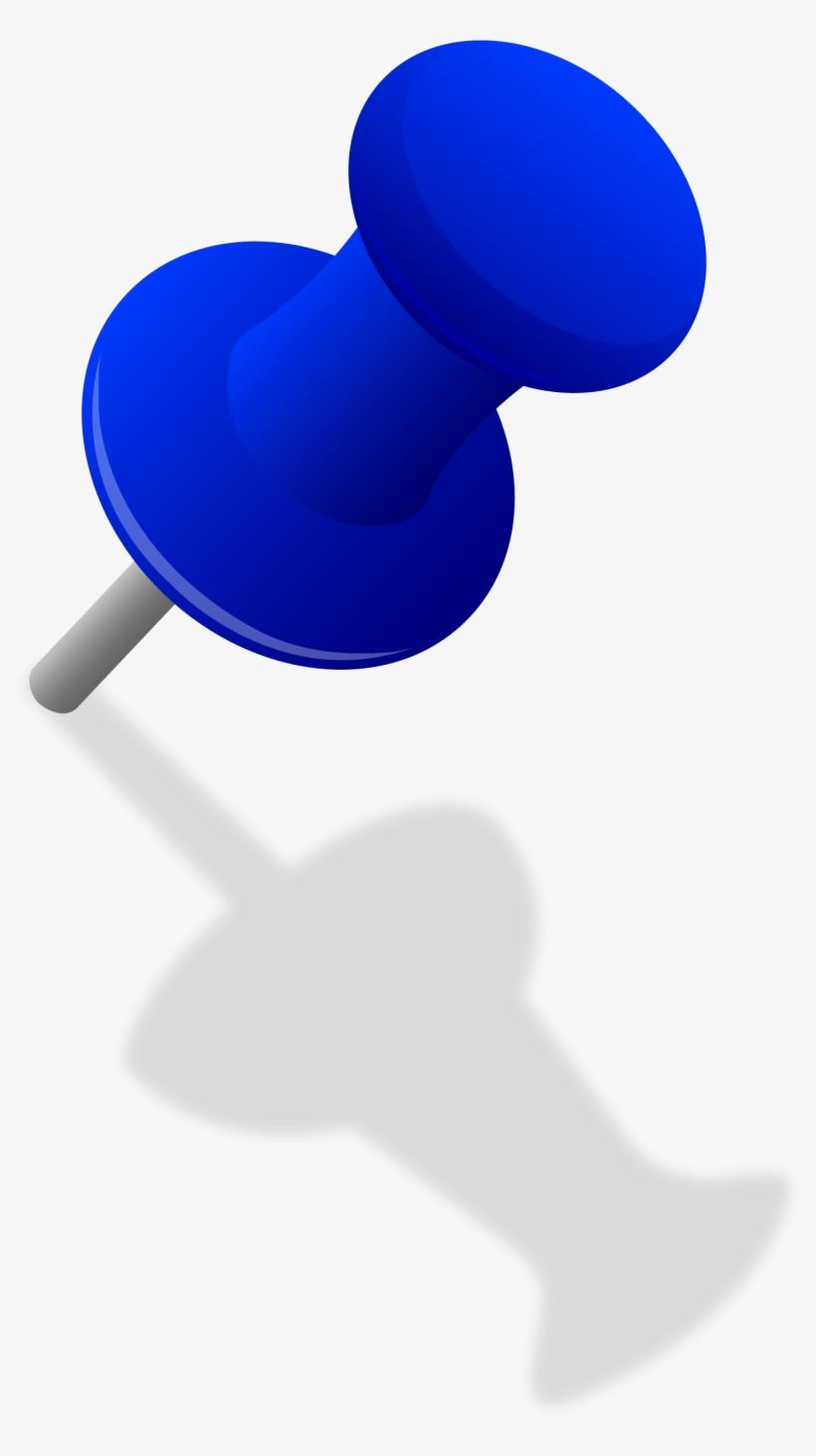 Pin clipart tac. Push clip art thumb