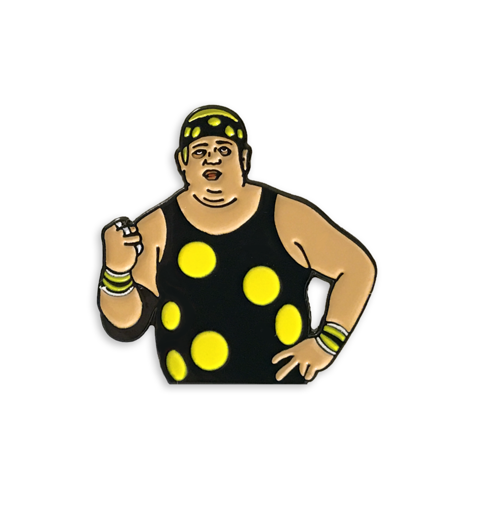 Pin clipart wrestling pin. Dream dusty rhodes and