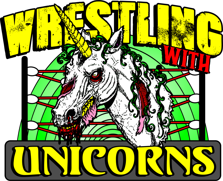 Wwu unicorns pin wrestling. Wrestlers clipart banner