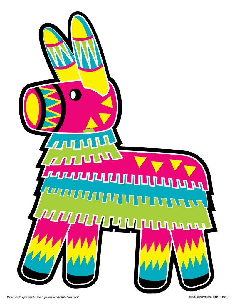 Donkey rf pictures to. Pinata clipart