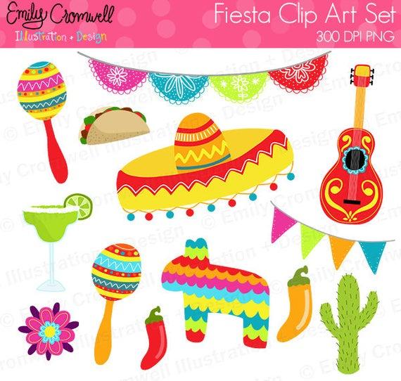 Pinata clipart baby sombrero. Fiesta digital cinco de