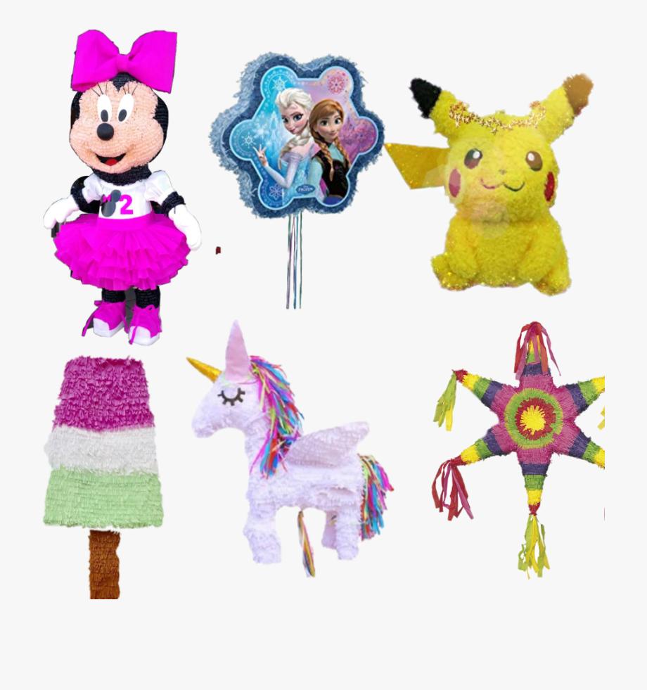 Pinatas pokemon unicorn star. Pinata clipart classic