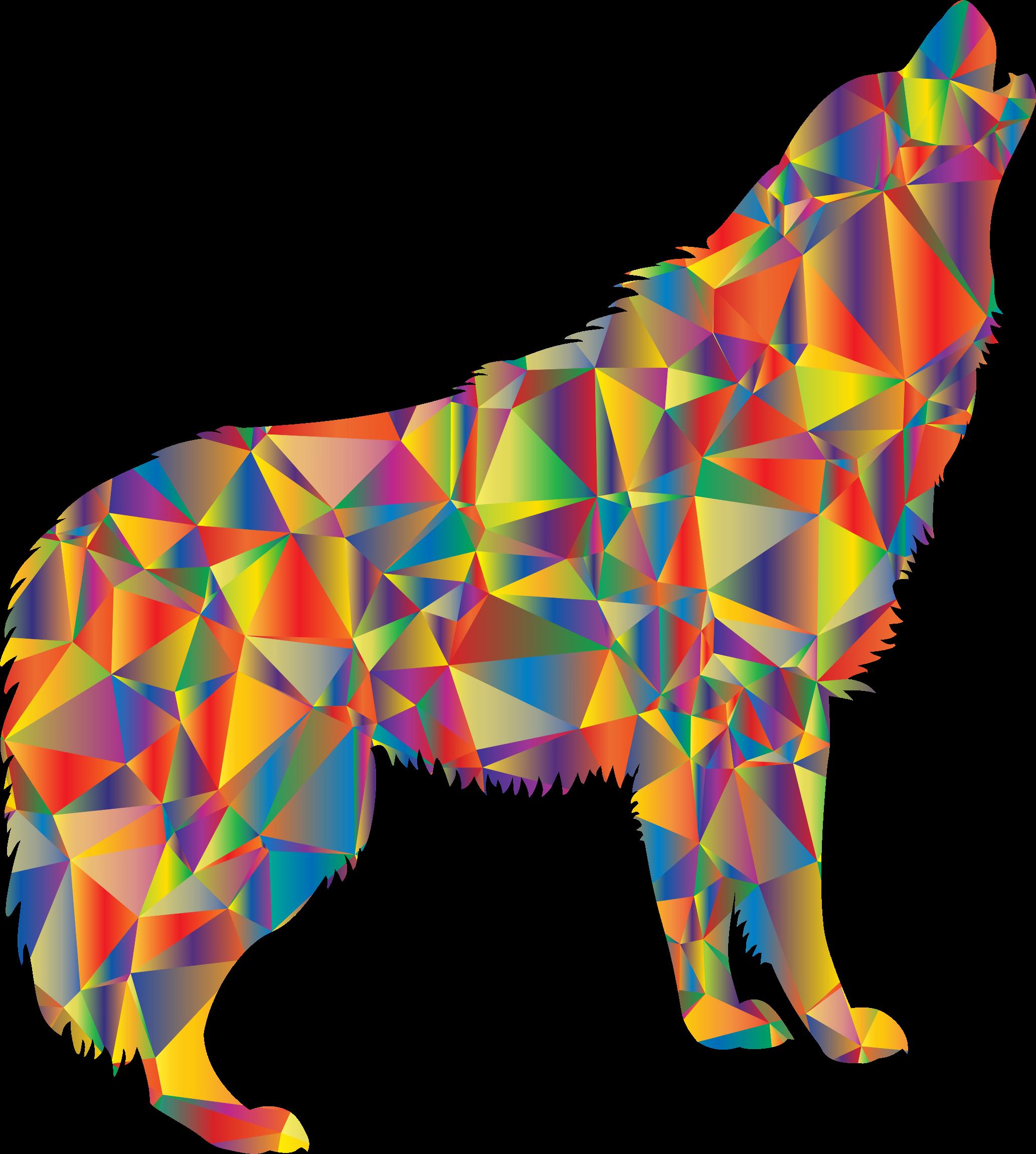 Pinata clipart clip art. Enraged howling wolf big