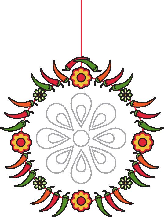 pinata clipart decor mexican