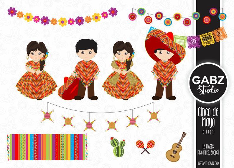 Pinata clipart decor mexican. Cinco de mayo party
