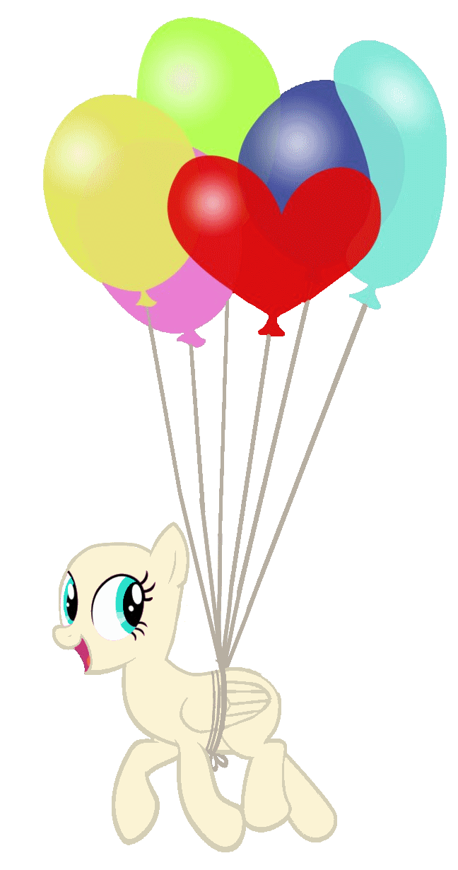 Pinata clipart star pinata. Balloon pony base by