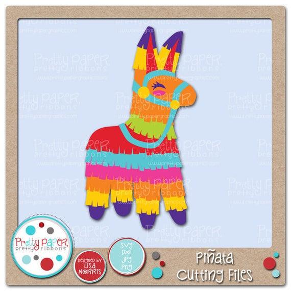 Pinata clipart themed. Cutting files clip art