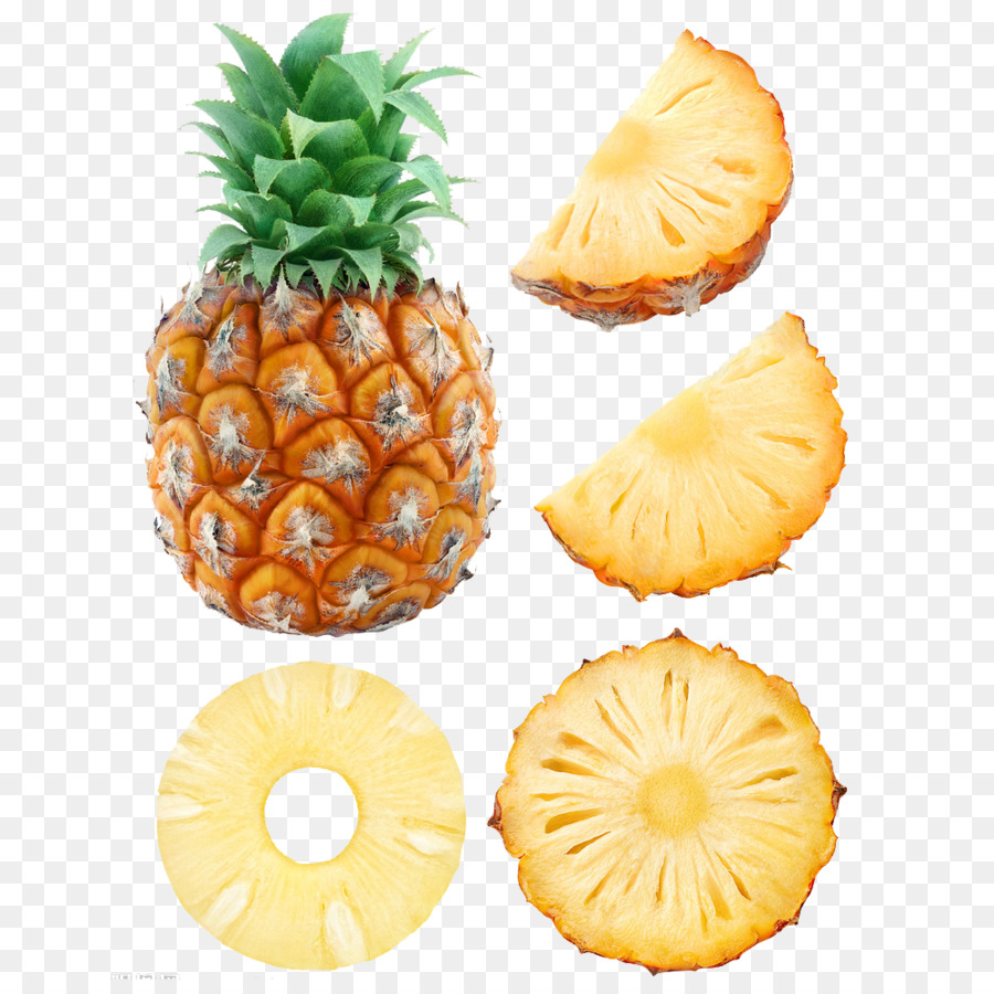 Png download free transparent. Pineapple clipart banana