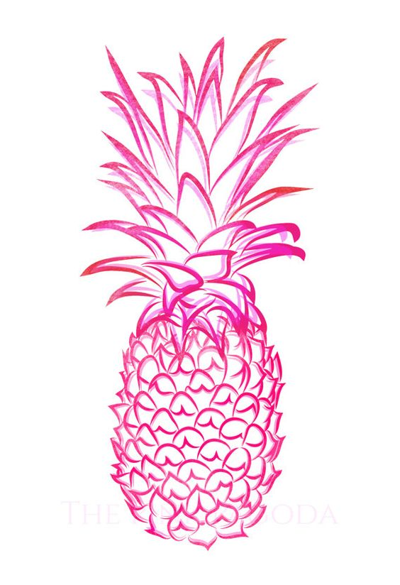 Pineapple clipart blue. Chinoiserie chic fabulous friday