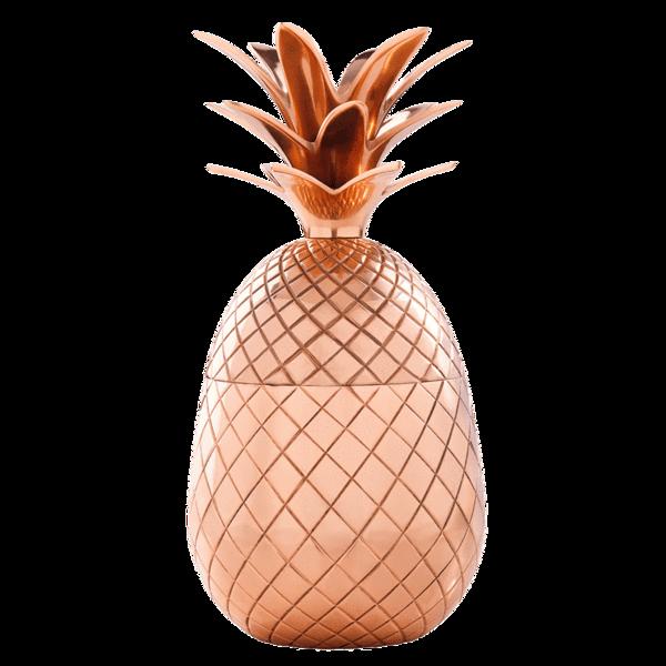 Copper tumbler elyx boutique. Pineapple clipart classy