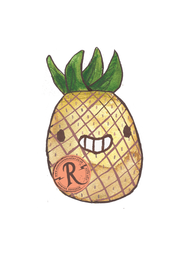 Pineapple clipart craft. Beer rising west berkshire