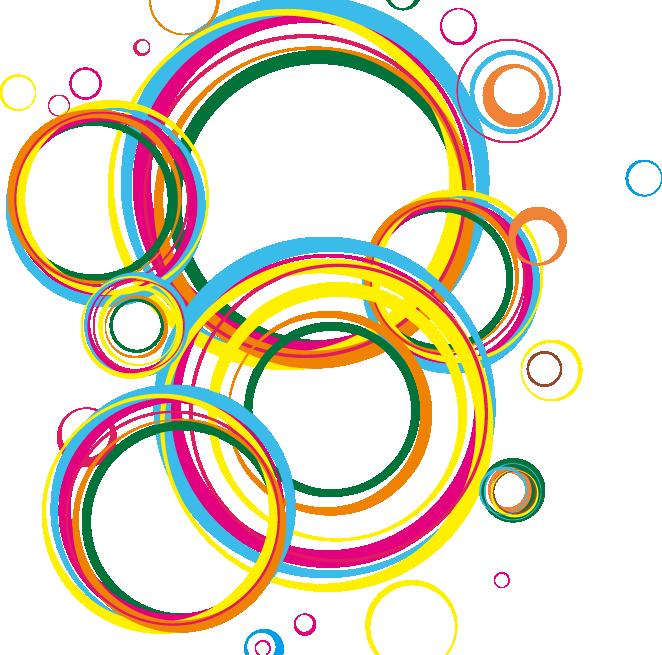 Circle geometry clip art. Pineapple clipart geometric