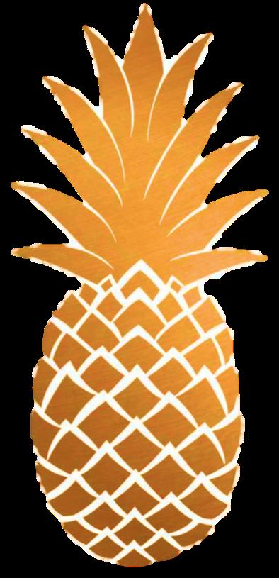 Pineapple clipart gold pineapple. Ginger snap organic tea