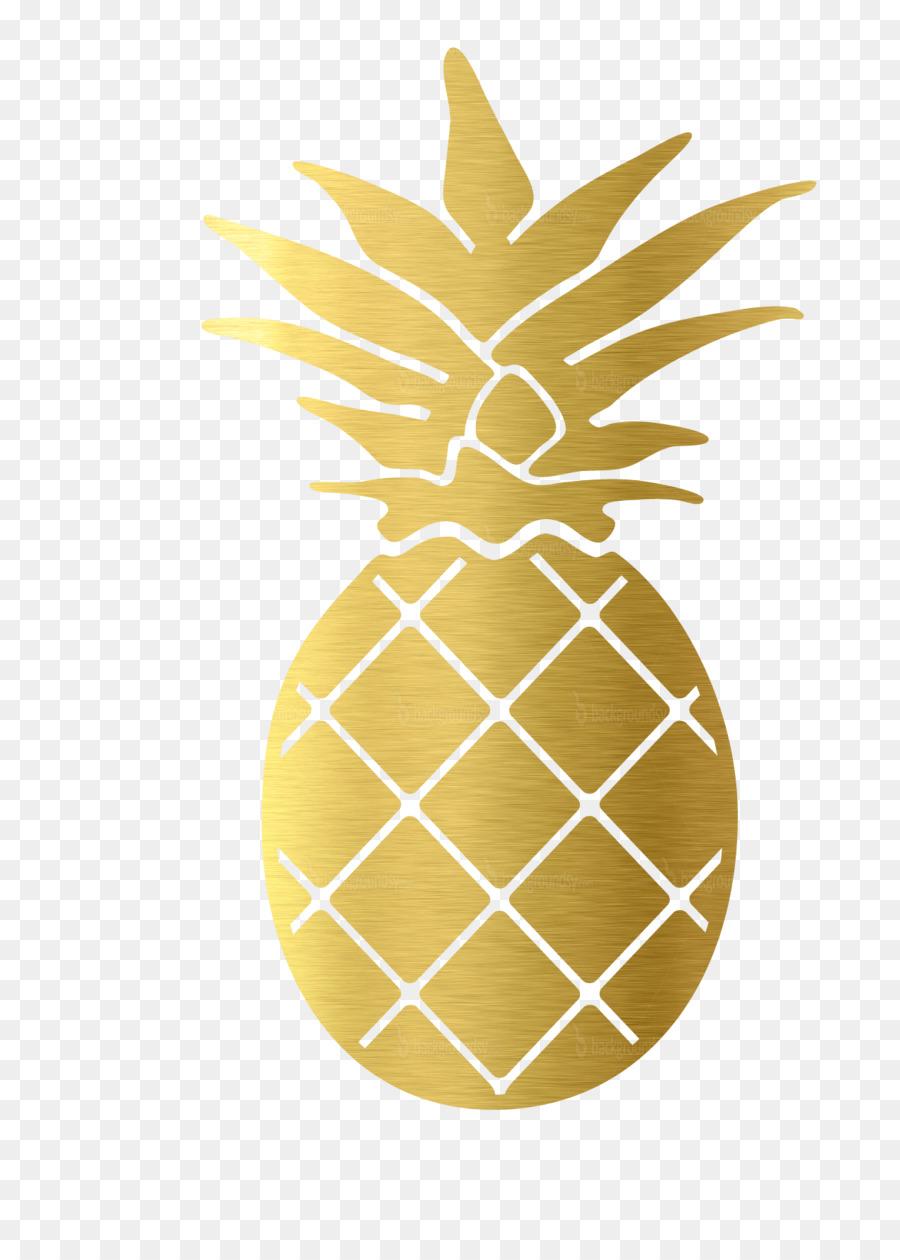Pineapple clipart gold pineapple. Cartoon ananas food
