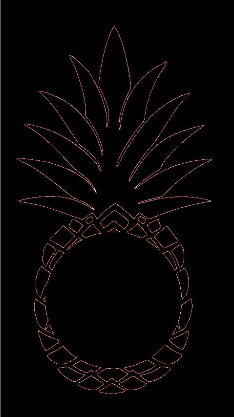 Southern charm chic pineapplemonogram. Pineapple clipart monogram